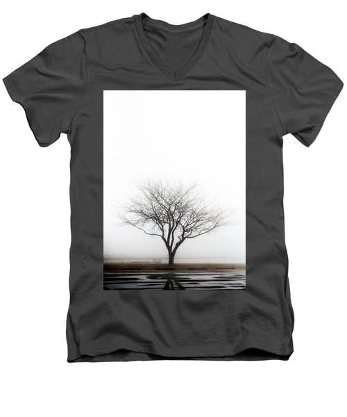 Lone Reflection Men's V-Neck T-Shirt