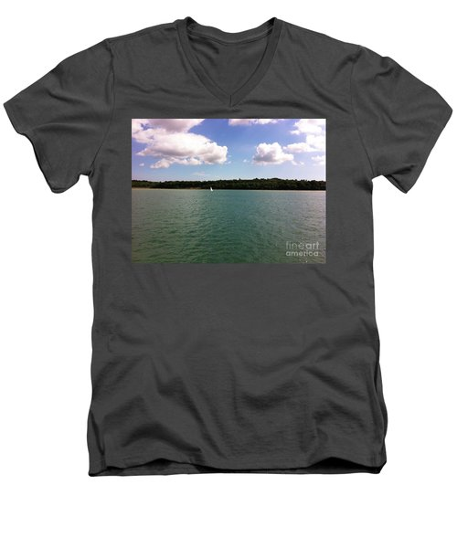 Lone Sailor Men's V-Neck T-Shirt