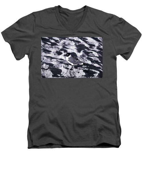 Lone Seagull Men's V-Neck T-Shirt