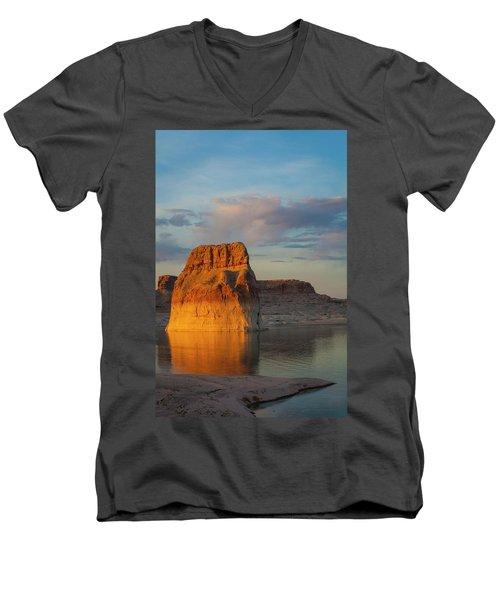 Lonely Rock Men's V-Neck T-Shirt