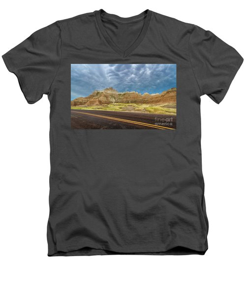 Lonesome Highway Men's V-Neck T-Shirt