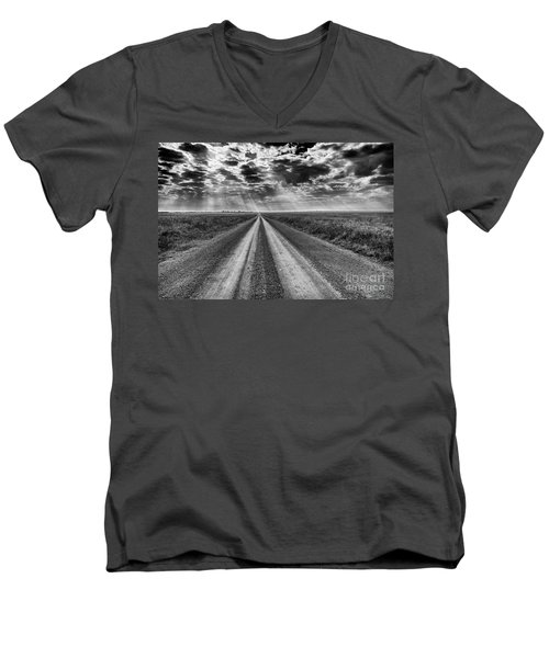Long And Lonely Men's V-Neck T-Shirt