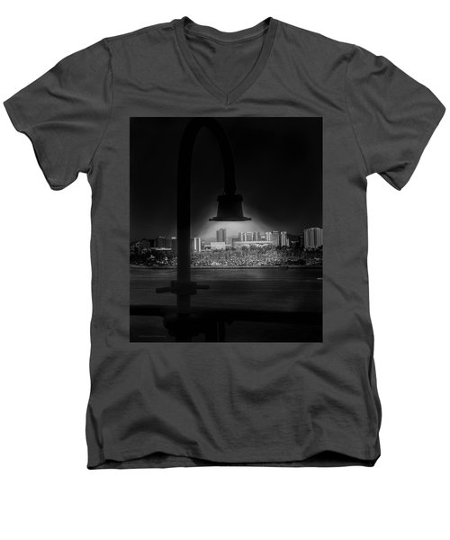 Long Beach Noir Men's V-Neck T-Shirt