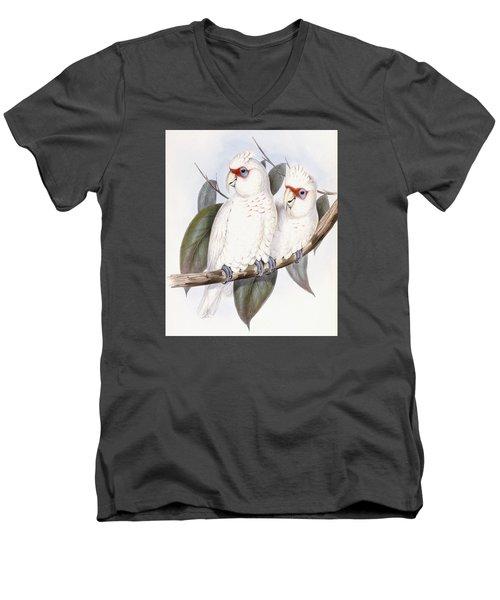 Long-billed Cockatoo Men's V-Neck T-Shirt
