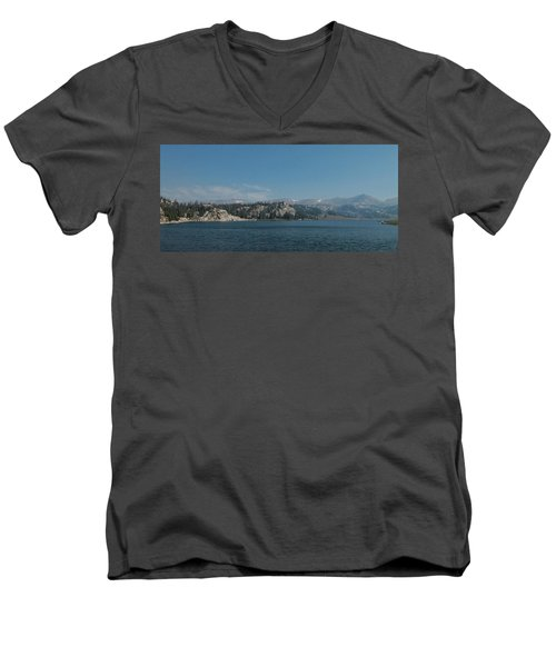 Long Lake Shoshone National Forest Men's V-Neck T-Shirt