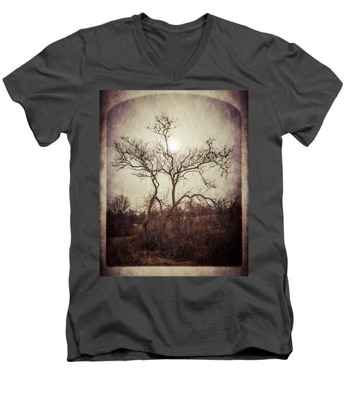 Long Pasture Wildlife Perserve 2 Men's V-Neck T-Shirt