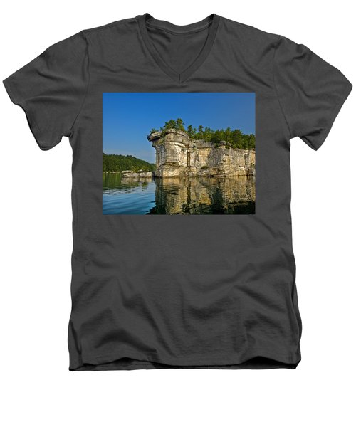 Long Point Men's V-Neck T-Shirt