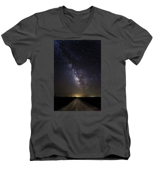 Long Road To Eden Men's V-Neck T-Shirt