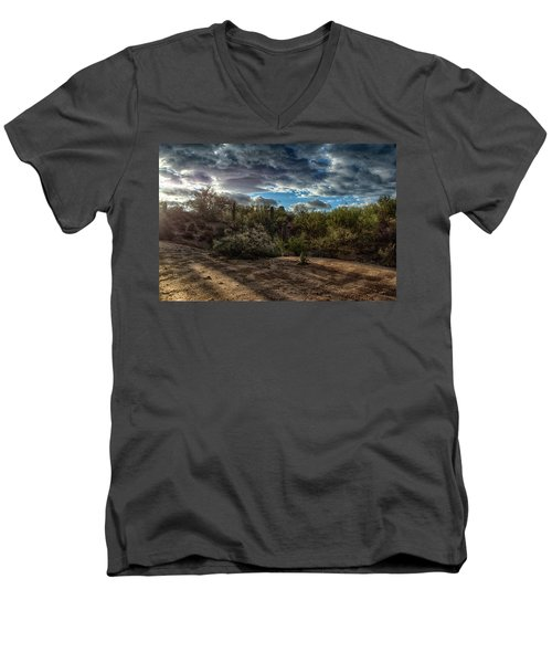 Long Shadows Men's V-Neck T-Shirt