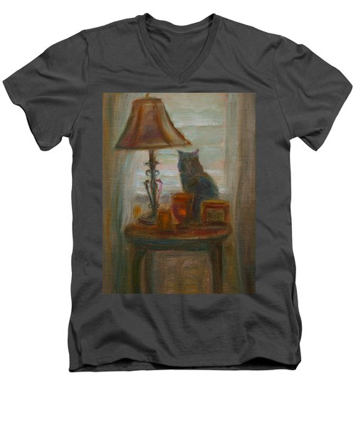Longing- A Not-so-stillife Men's V-Neck T-Shirt