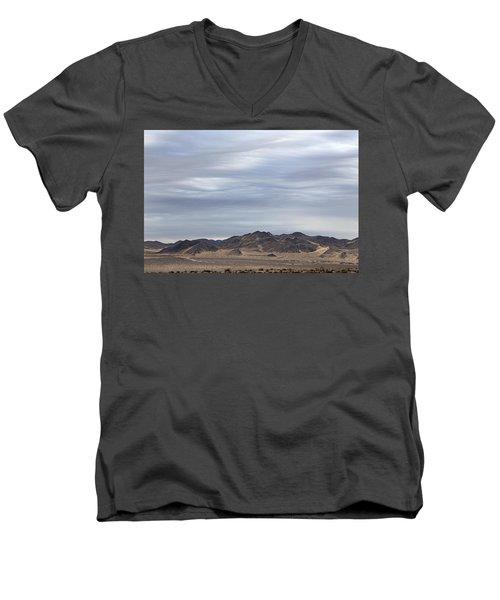 Look Into Sky Men's V-Neck T-Shirt