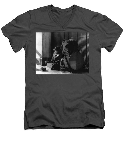 Looked The Other Way Men's V-Neck T-Shirt