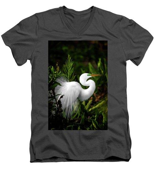 Lookin' For Love Men's V-Neck T-Shirt