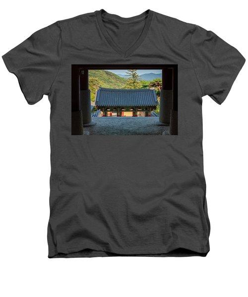 Looking Outward Men's V-Neck T-Shirt