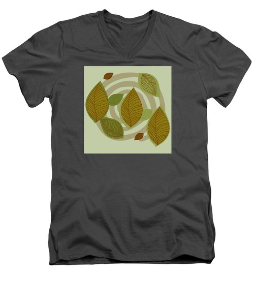 Looking To Fall Men's V-Neck T-Shirt by Kandy Hurley