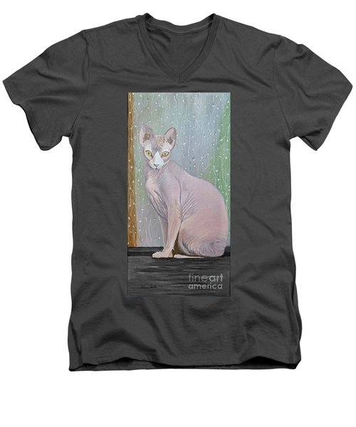 Loopy Men's V-Neck T-Shirt