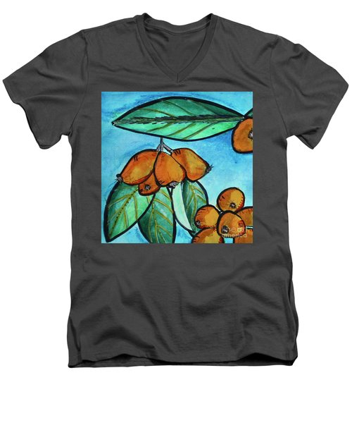 Loquats I Men's V-Neck T-Shirt