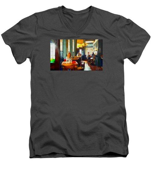 Lori Men's V-Neck T-Shirt