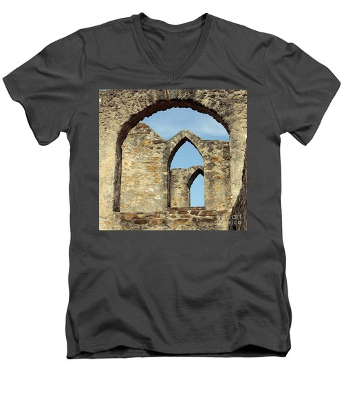 Los Arcos De La Mision San Jose Men's V-Neck T-Shirt