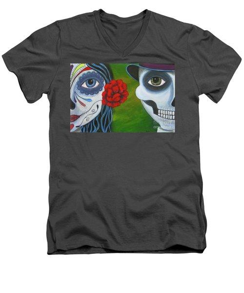 Los Novios Men's V-Neck T-Shirt