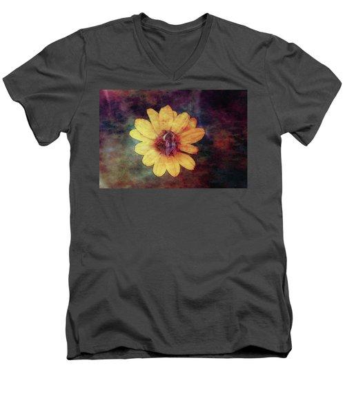 Lost Autumn Veterans 5670 Ldp_2 Men's V-Neck T-Shirt