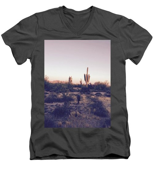 Lost In The Desert Men's V-Neck T-Shirt