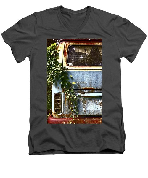 Lost In Time Men's V-Neck T-Shirt