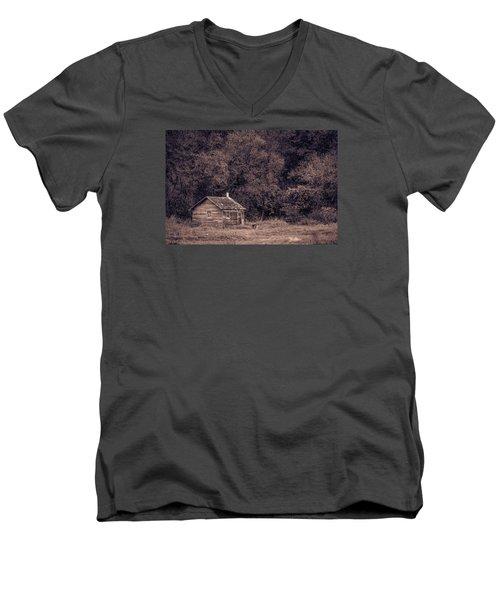 Lost In Time Men's V-Neck T-Shirt