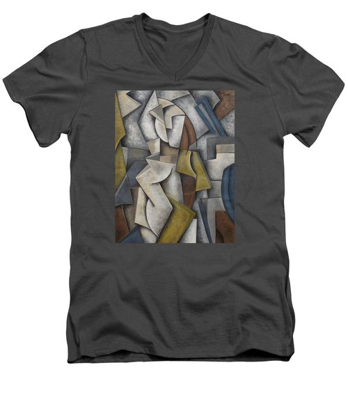 Lost In You Men's V-Neck T-Shirt by Trish Toro