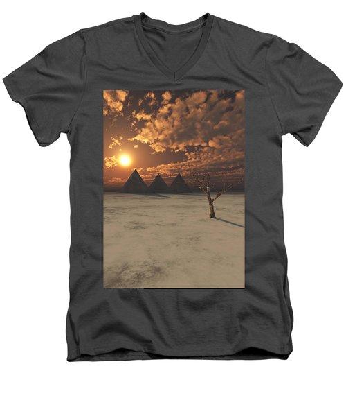 Lost Pyramids Men's V-Neck T-Shirt