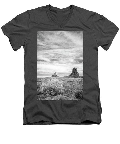 Lost Souls In The Desert Men's V-Neck T-Shirt by Jon Glaser