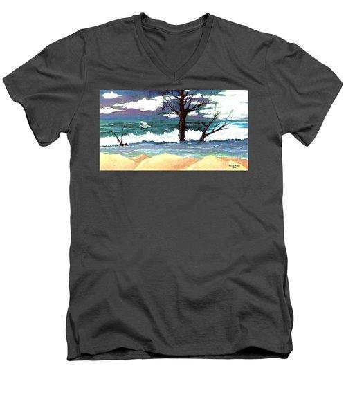 Lost Swan Men's V-Neck T-Shirt