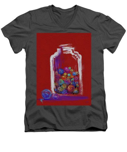 Lost Your Marbles? Men's V-Neck T-Shirt