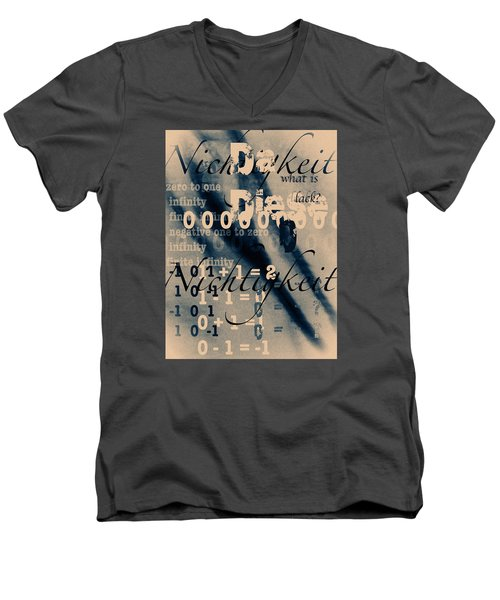 Lost--zero--nothingness Men's V-Neck T-Shirt