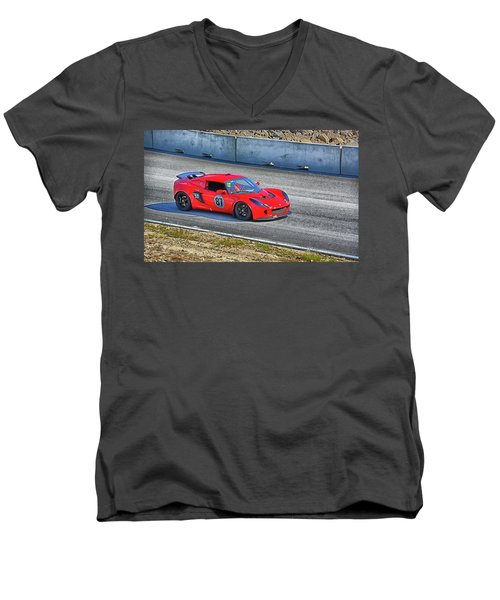Lotus 87 Northeast Track Days Men's V-Neck T-Shirt