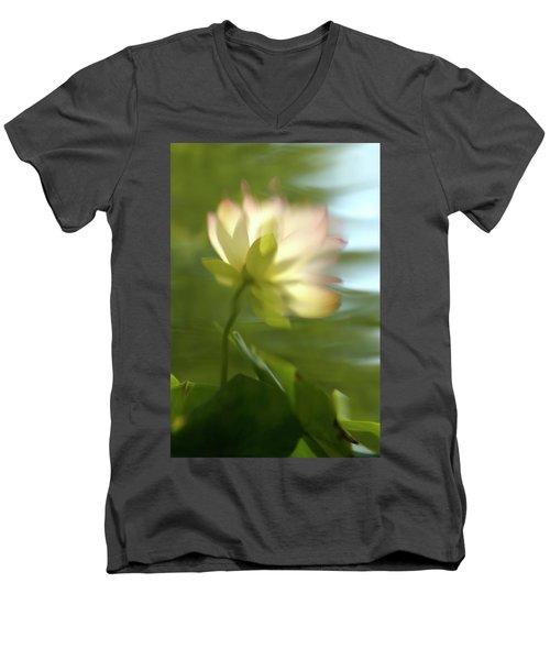 Lotus Reflection Men's V-Neck T-Shirt