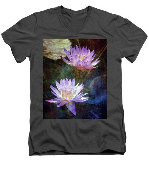 Lotus Reflections 2980 Idp_2 Men's V-Neck T-Shirt