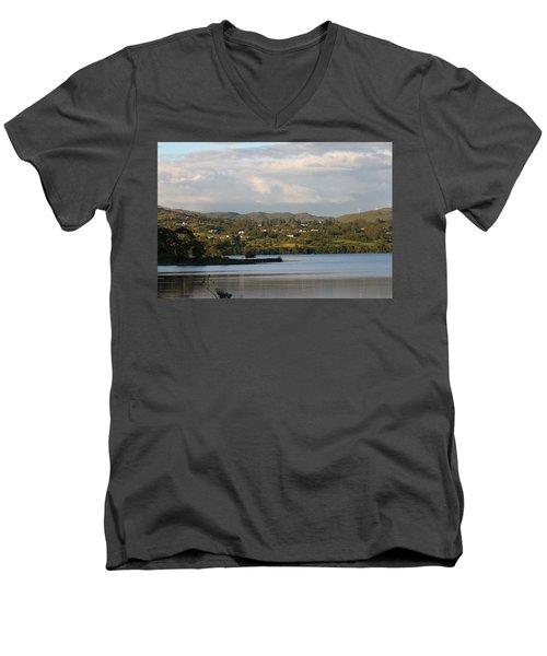 Lough Eske Men's V-Neck T-Shirt