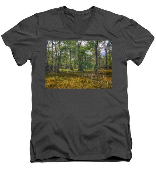 Louisiana Swamp Men's V-Neck T-Shirt
