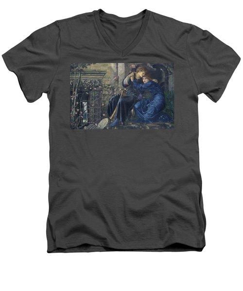 Love Among The Ruins Men's V-Neck T-Shirt
