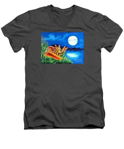 Love And Affection Men's V-Neck T-Shirt by Ragunath Venkatraman