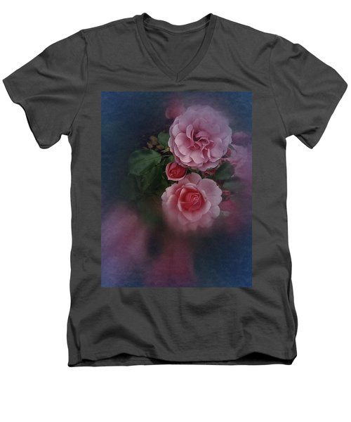 Men's V-Neck T-Shirt featuring the photograph Love Is All You Need by Richard Cummings