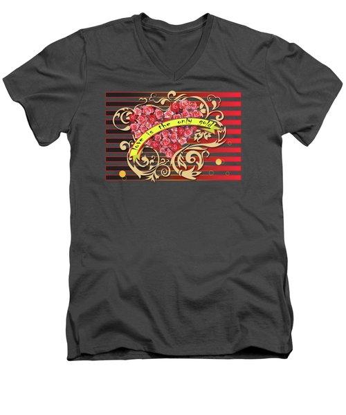 Love Is... Men's V-Neck T-Shirt