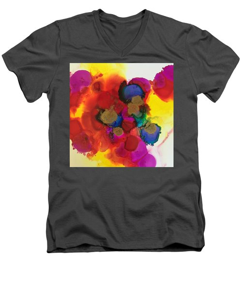 Love Is Everywhere  Men's V-Neck T-Shirt