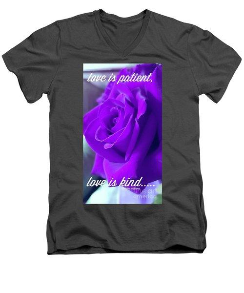 Love Is.... Men's V-Neck T-Shirt
