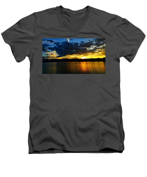 Love Lake Men's V-Neck T-Shirt