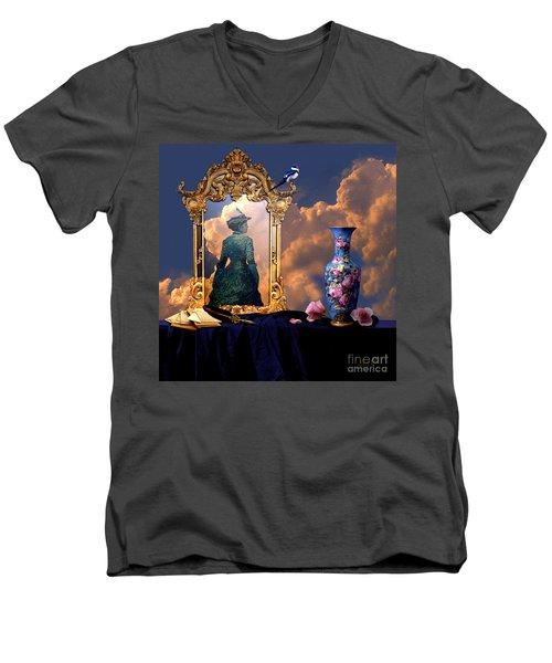 Love Letters Men's V-Neck T-Shirt