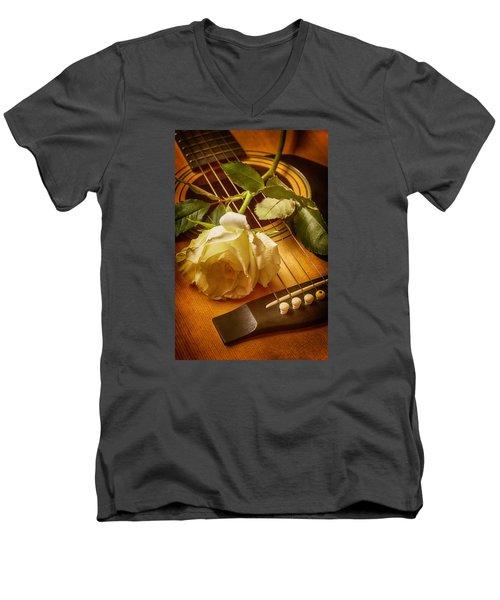 Love Song In The Making Men's V-Neck T-Shirt