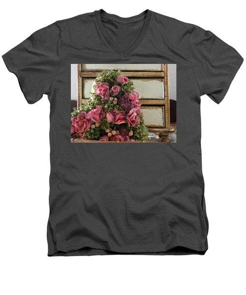 Love Symbols Men's V-Neck T-Shirt