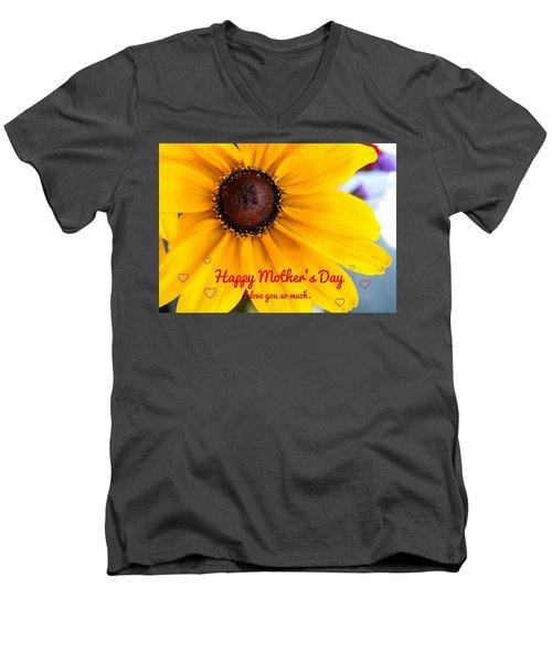 Love You Mama Men's V-Neck T-Shirt